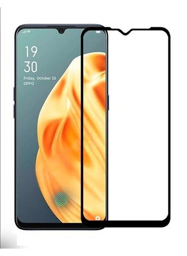 MobilCadde Dafoni Oppo A91 Tempered Glass Premium Full Cam Ekran Koruyucu Renkli